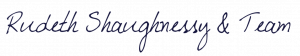 Rudeth's signature